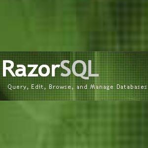 Richardson Software RazorSQL 8.3.5 Win/Linux/Mac 数据库管理软件 官方原版 完美激活补丁