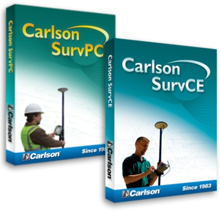 Carlson SurvPC 6.01 完美激活破解版 强大的测绘地理软件