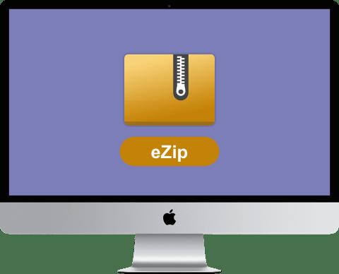 eZip for Mac v1.7.3号称永久免费压缩软件 替代BetterZip