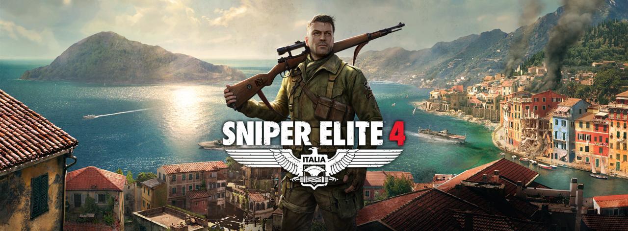狙击精英4(Sniper Elite 4)PC版 第一人称射击类(FPS)游戏 破解版
