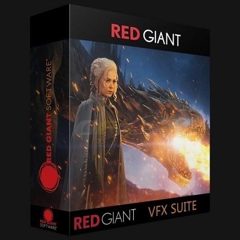 Red Giant VFX Suite 1.0.3 Win AE/PR红巨人特效合成抠像平面跟踪插件